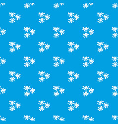 Paintball blob pattern seamless blue vector