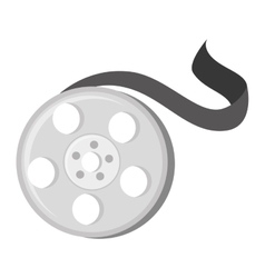 Reel tape movie vector