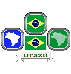 symbol of Brazil vector image