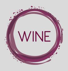 wine bubble liquor beverage vector image