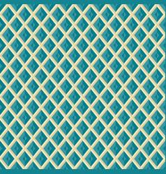 seamless rhombus grid pattern geometric texture vector image