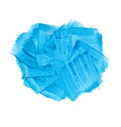Blue acrylic paint banner vector