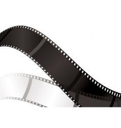 film shadow bend vector image vector image