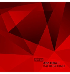 Abstract Dark Red Geometric Background vector