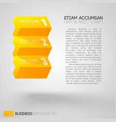 Abstract web infographics vector