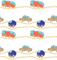 Car road seamless texture vector