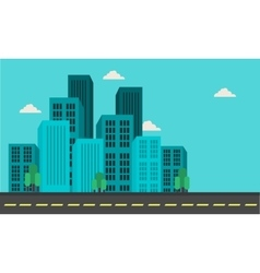 City building landscape vector
