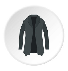 Jacket icon circle vector