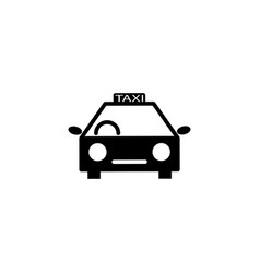 travel transport taxi icon vector image