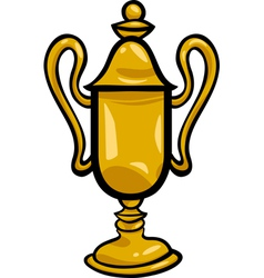 Winner cup clip art cartoon vector