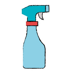 spray bottle isolated icon vector image vector image