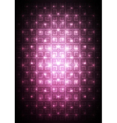 Digital pink background vector image