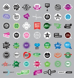 Collection logos highest quality vector