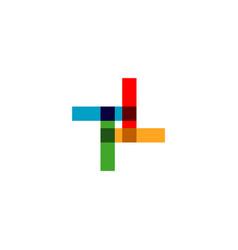 company logo template design vector image