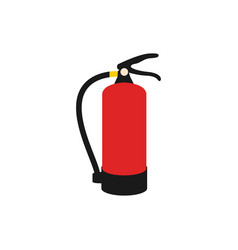 fire extinguisher graphic design element vector image