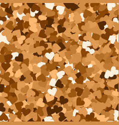 Glitter seamless texture actual red gold particle vector