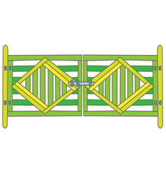 Green gate vector