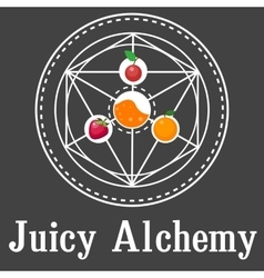 Juicy Alchemy vector image