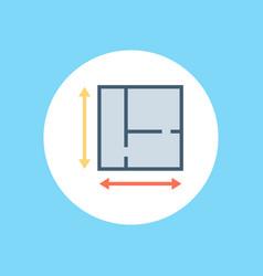 plan icon sign symbol vector image