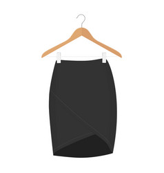 skirt template design fashion woman - women skirt vector image