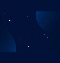 abstract landscape dark blue background vector image