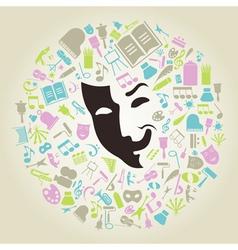 Art mask vector