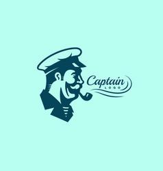 captain logo vector image