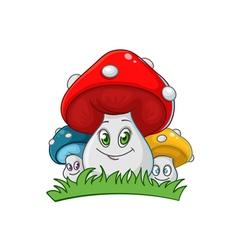 Family of fungi vector
