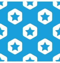 Favorite hexagon pattern vector