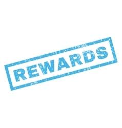 Rewards rubber stamp vector