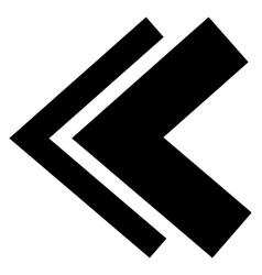 Rewind arrows vector