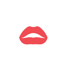 lips graphic design template isolated vector image
