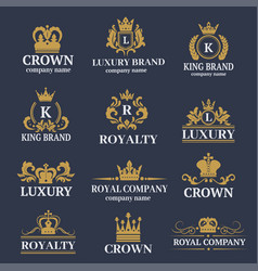 luxury boutique calligraphy logo best selected vector image