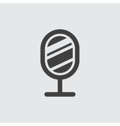 Mirror icon vector image