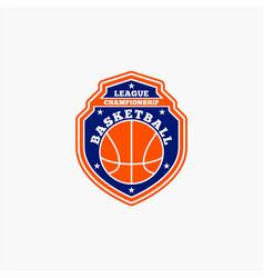 Basketball club badge logo-4 vector