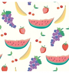 fruitssketch vector image