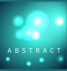 Futuristic light particles abstract background vector
