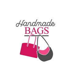 Handbag shop logo vector