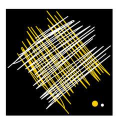 Hatching lines design vector