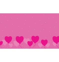 Love for valentine day vector