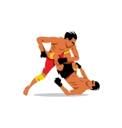 Martial Arts sign Cartoon vector image
