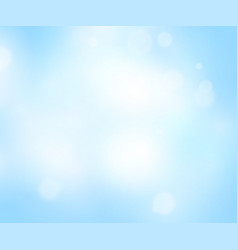 soft blue abstract background nature sky light vector image