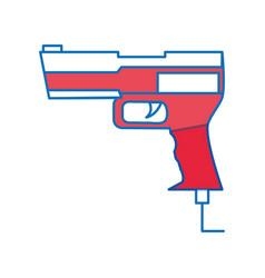 Toy gun design vector