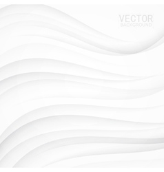 White background curve vector image