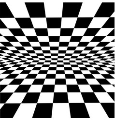 White-black checkered background for design-works vector
