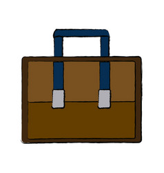 case business accessory bag handle icon vector image