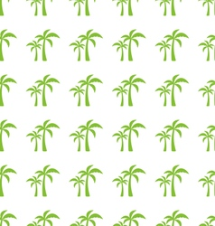 Endless Print Texture with Tropical Palm Trees vector