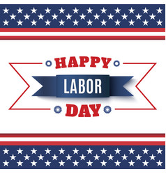 Happy Labor Day abstract background vector