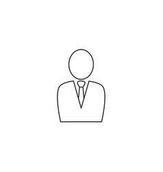 Male avatar icon suitable for info graphics vector