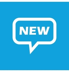NEW message icon vector